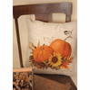 Harvest Pumpkin Large Pillow