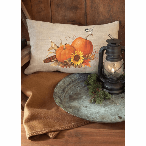 Harvest Pumpkin Small Pillow