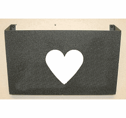Heart Wall Mount Magazine Rack
