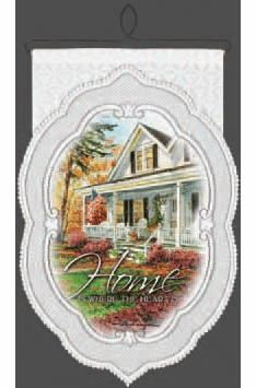 Hearth And Home Wall Decor, Home is Where