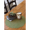 Highland Pine Round Doily/Charger, set of 6