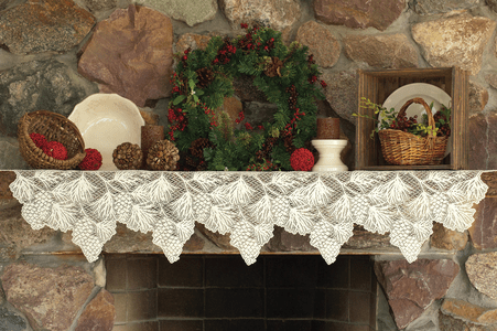 Holiday Table and Mantel Decor
