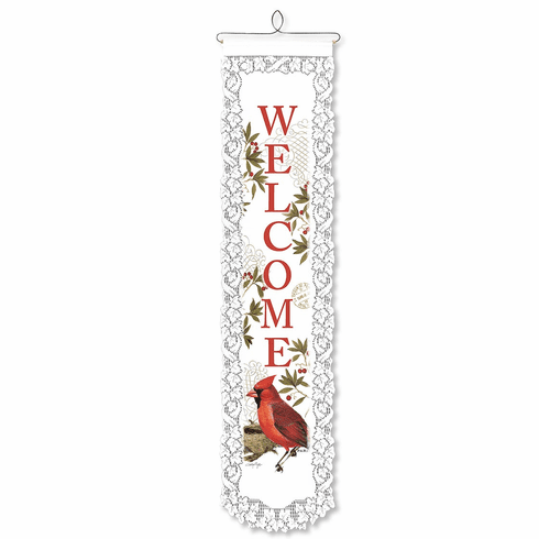 Holiday Wall Decor, Cardinal Welcome