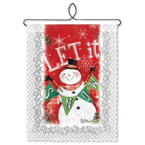Holiday Wall Decor, Let It Snow