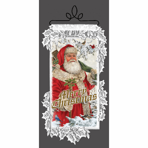 Holiday Wall Decor, Woodland Santa