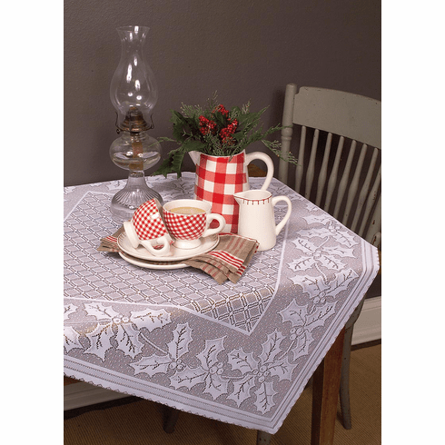 Holly Vine Small Table Topper