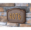 Home Address Plaque - Colonial Style