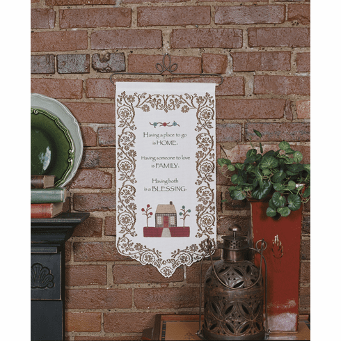 Home and Family Wall Hanging