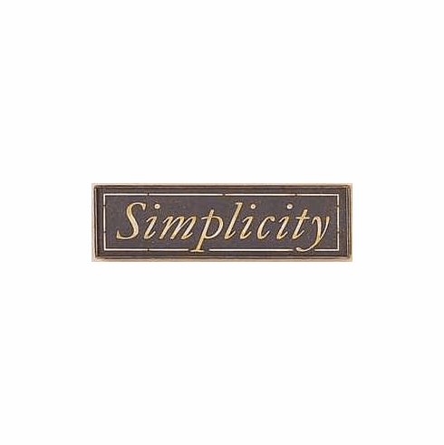 Home Decor Gift - Simplicity