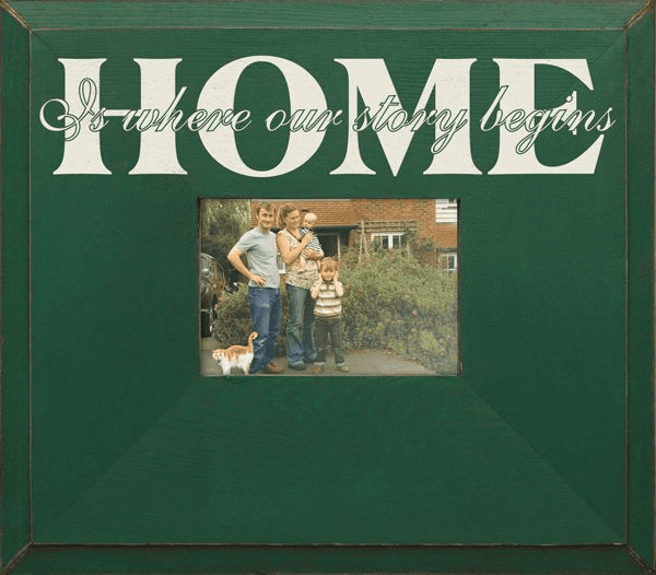 Home - Is Where Our Story Begins�Frame