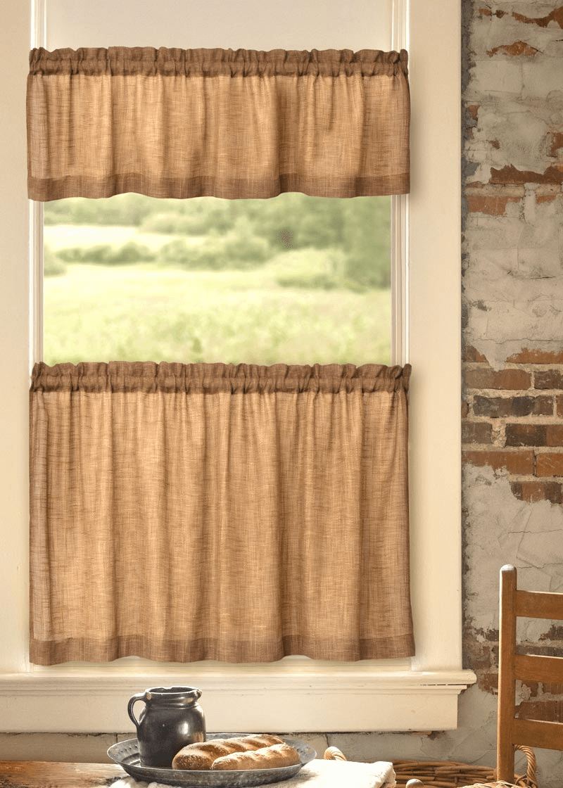 Homespun Valance
