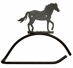 Horse Design Paper Towel/Toilet Paper Holder