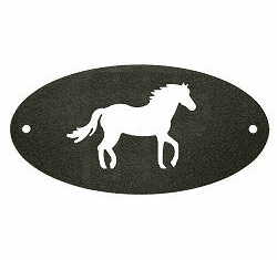 Horse Door Plaque