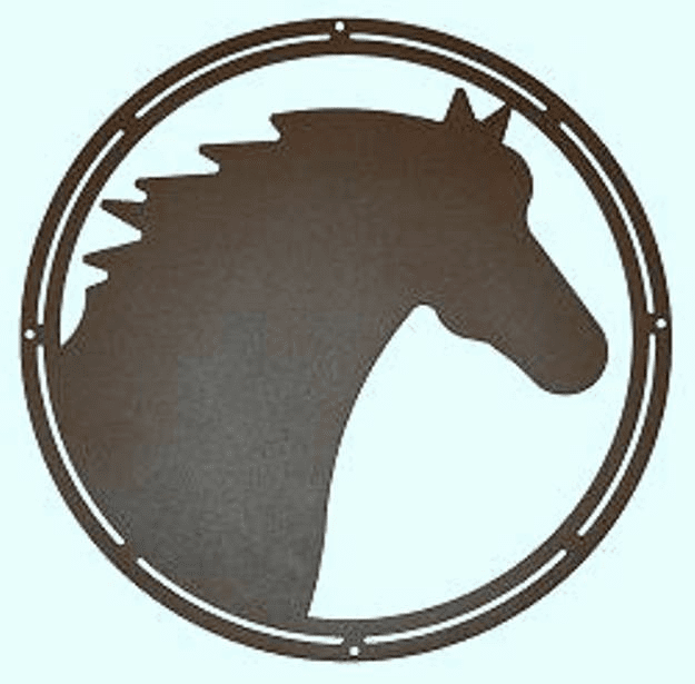 Horse Head Silhouette - Horse Lover