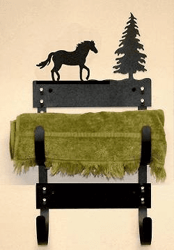 Horse Multiple Towel Rack