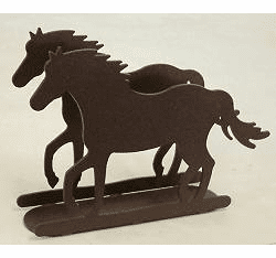 Horse Napkin and Letter Holder