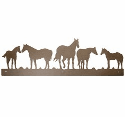 Horse Rustic Scenery Wall Art - 3 sizes