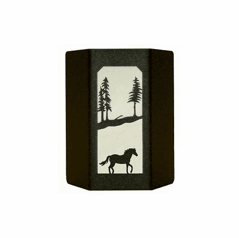 Horse Sconce Wall Light