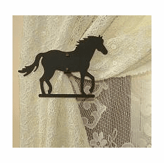 Horse Swag Holder Pair