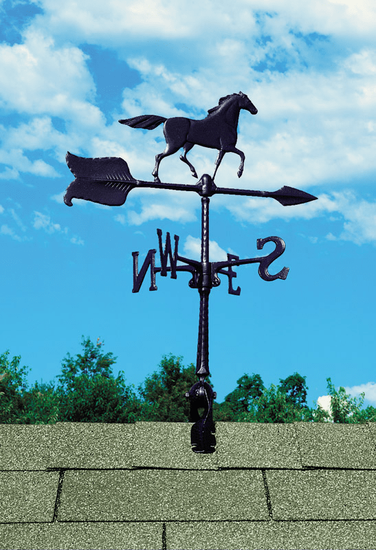 Horse Weathervane - Galloping Horse