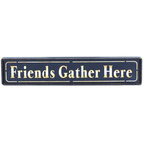 Housewarming Gift - Friends Gather Here