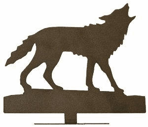 Howling Wolf Mailbox Ornament