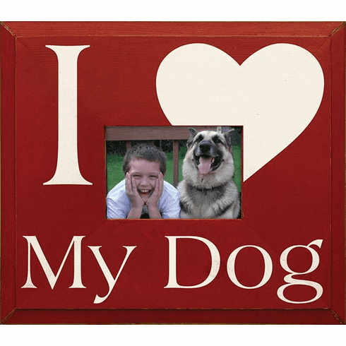 I Love My Dog Frame