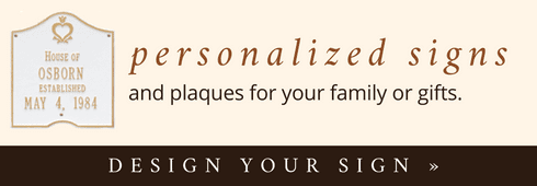 Design Your Own Personalized Sign
