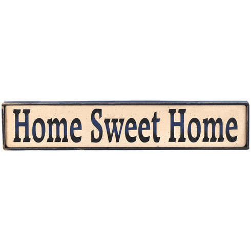 Interior Home Decoration - Home Sweet Home (Long)