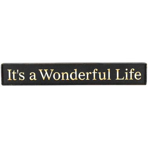 It's A Wonderful Life - Large
