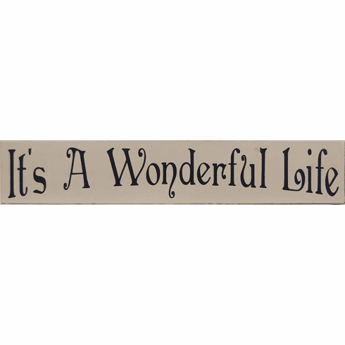 It's A Wonderful Life - Popular Sign