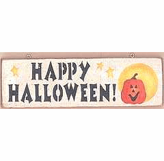Jack-O'-Lantern - Halloween Sign