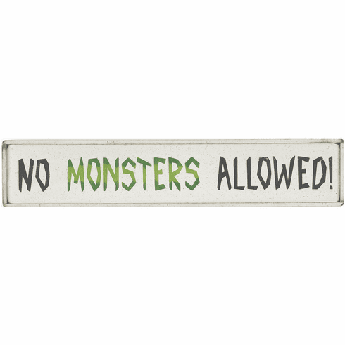 Kid Room Decorating - No Monsters Allowed