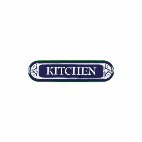 Kitchen Door Sign - Kitchen