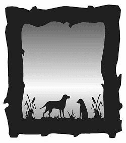 Labrador Retrievers Mirror