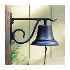 Large Country Bell - Classic Dinner Bell