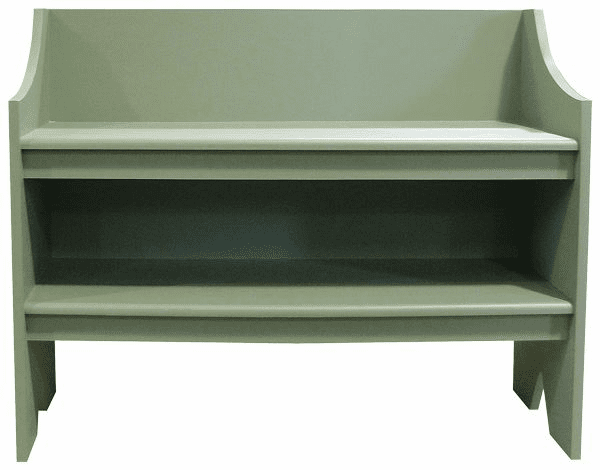 Large Shelf Bench, 38 inch wide