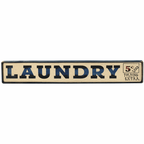 Laundry Room - Laundry Sign (Horizontal)