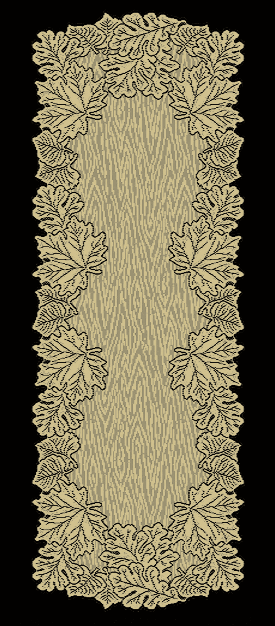 Leaf Mantle Runner in Three Colors