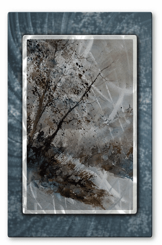 Leaning Trees Wall Art