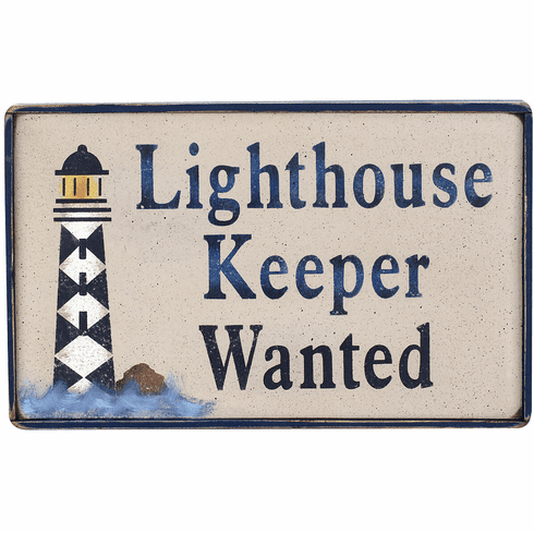 Light House Gift -  Lighthouse Keeper Wanted