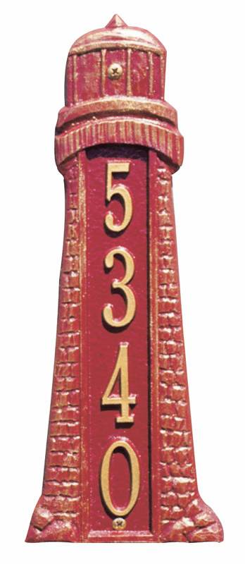 Lighthouse Address Marker - Ocean Decor