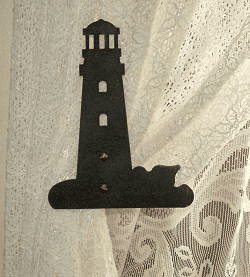 Lighthouse Swag Holder Pair