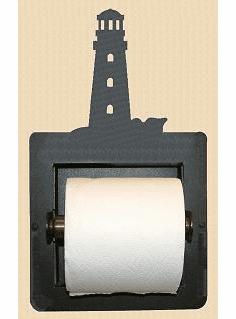 Lighthouse Toilet Paper Holder (Recessed)