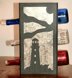 Lighthouse Wine Bottle Rack