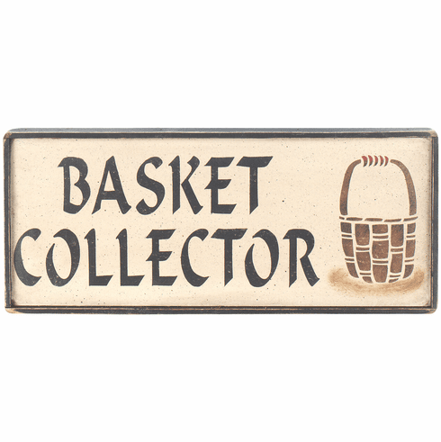 Living Room Decoration - Basket Collector