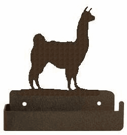 Llama One Piece Toilet Paper Holder