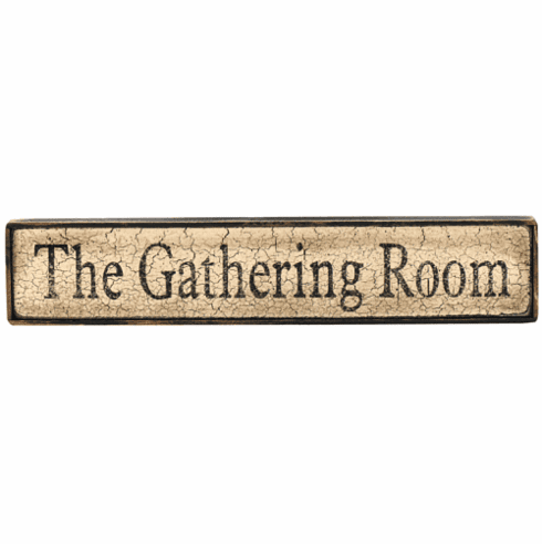 Log Cabin Decorating - The Gathering Room