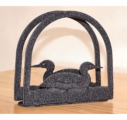 Loon Arched Napkin and Letter Holder