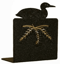 Loon Bookend Set